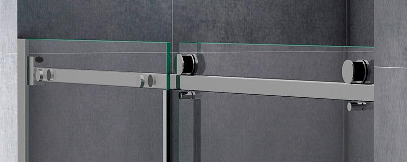 Detalle Mampara baño Elipsis