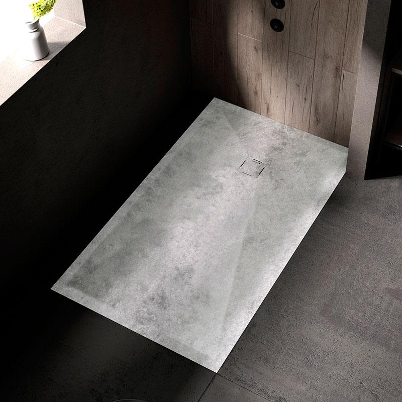 Plato ducha moderno microcemento