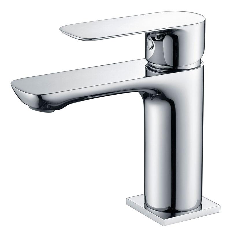 grifo cromado para lavabo de baño GME Cassio