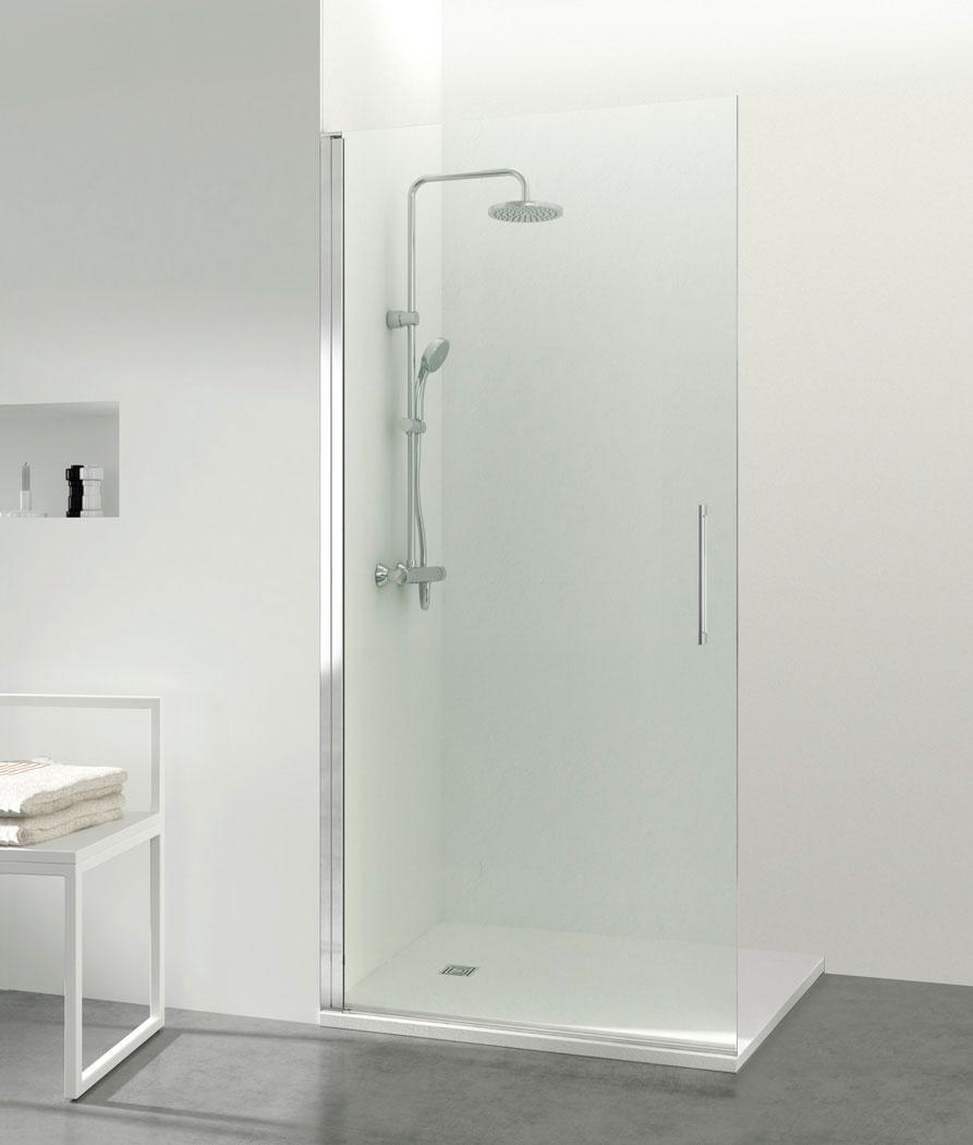 Mampara de ducha abatible 1 puerta Open Combi A