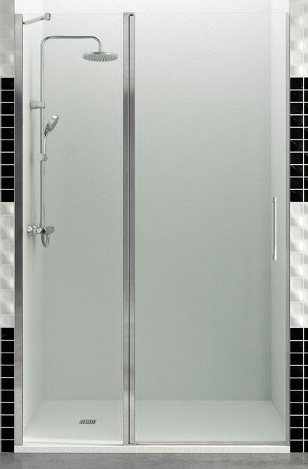 Mampara de ducha fijo + puerta abatible Open Combi C