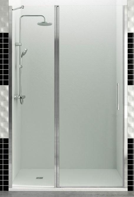 Mampara de ducha fijo + puerta abatible Open Combi D