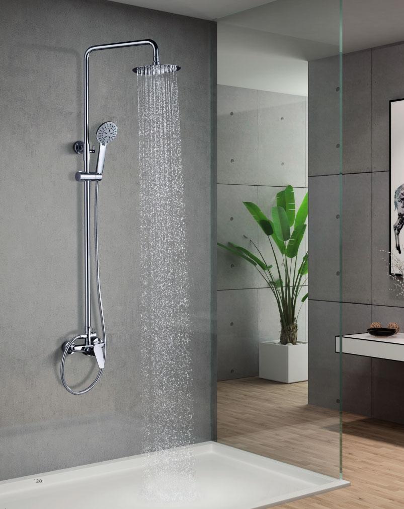 Conjunto de ducha monomando Teide