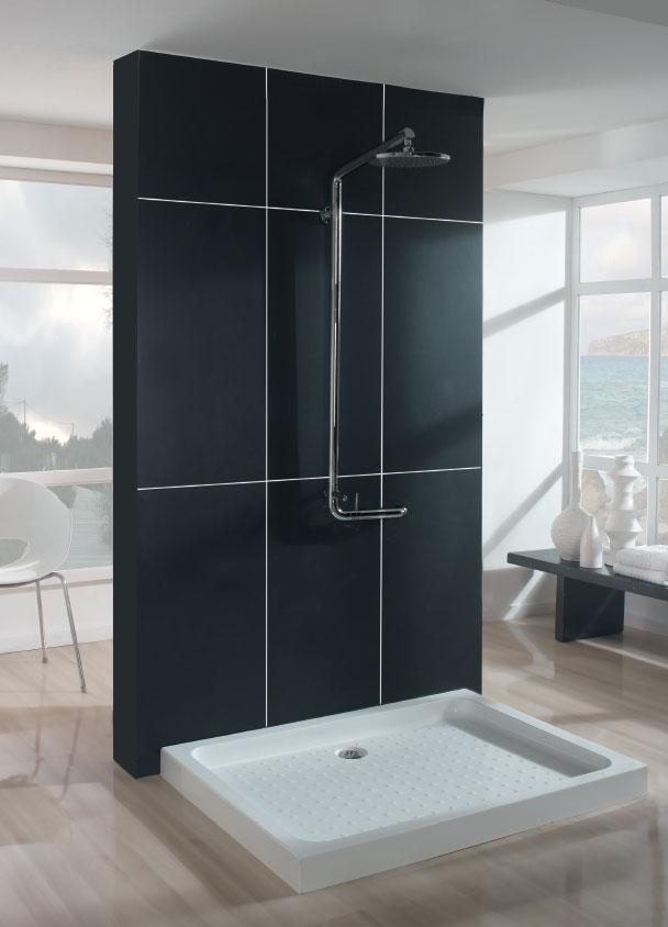 Plato de ducha acr lico syan serie 9cm de altura for Plato ducha acrilico