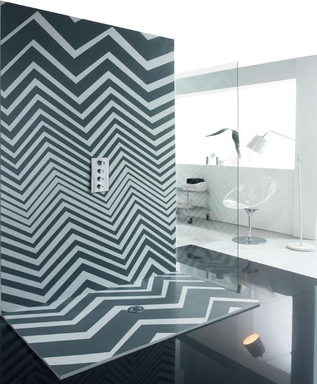 Panel de ducha Syan Zum - Textura